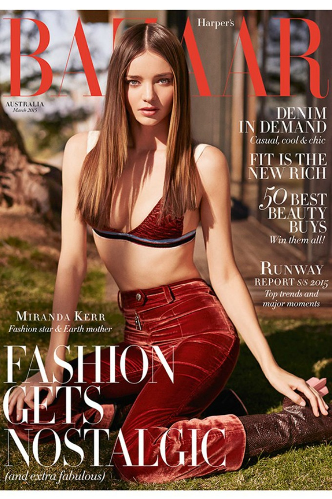 miranda ker na naslovnici magazina harpers bazaar australia 1 Miranda Ker na naslovnici magazina Harpers Bazaar Australia