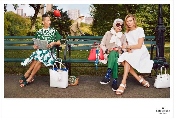 najstarija modna ikona na svetu u kampanji brenda kate spade 3 Najstarija modna ikona na svetu u kampanji brenda Kate Spade