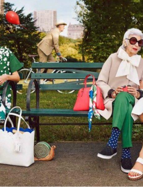 Najstarija modna ikona na svetu u kampanji brenda Kate Spade