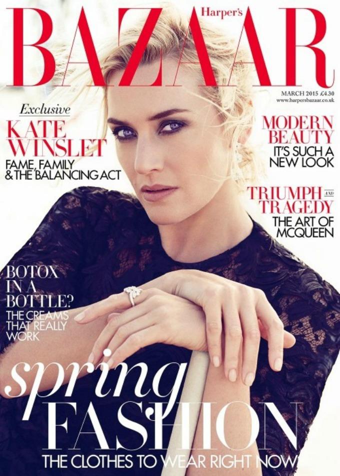 premrsava kejt vinslet na naslovnici harpers bazaara 1 Premršava Kejt Vinslet na naslovnici Harpers Bazaar a
