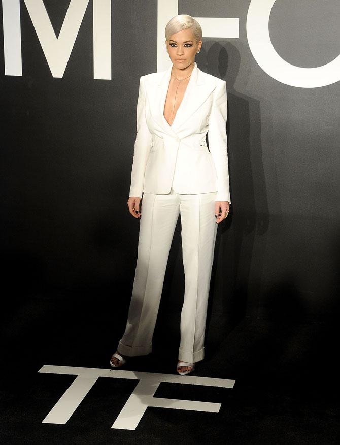 rita ora Fashion Police: Poznati na reviji Toma Forda