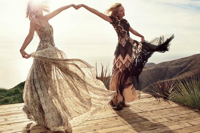 tejlor svift i karli klos na naslovnici magazina vogue 1 Tejlor Svift i Karli Klos na naslovnici magazina Vogue