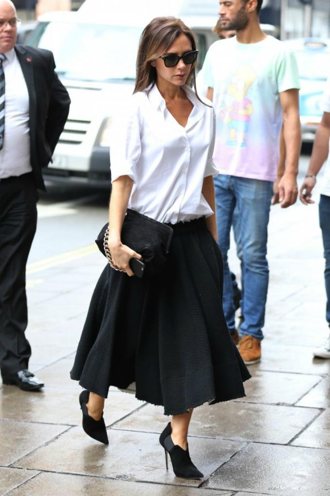viktorija bekam pripreme za new york fashion week 1 Viktorija Bekam: Pripreme za New York Fashion Week