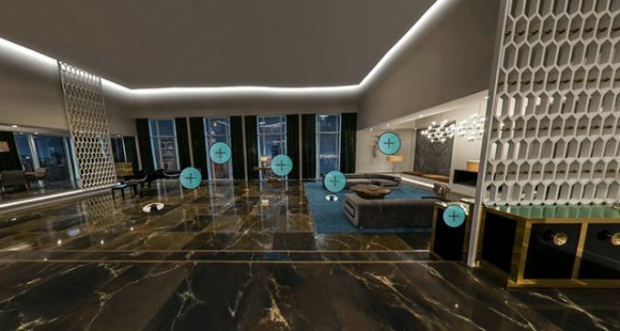 virtuelni obilazak Obiđite stan iz filma Pedeset nijansi siva