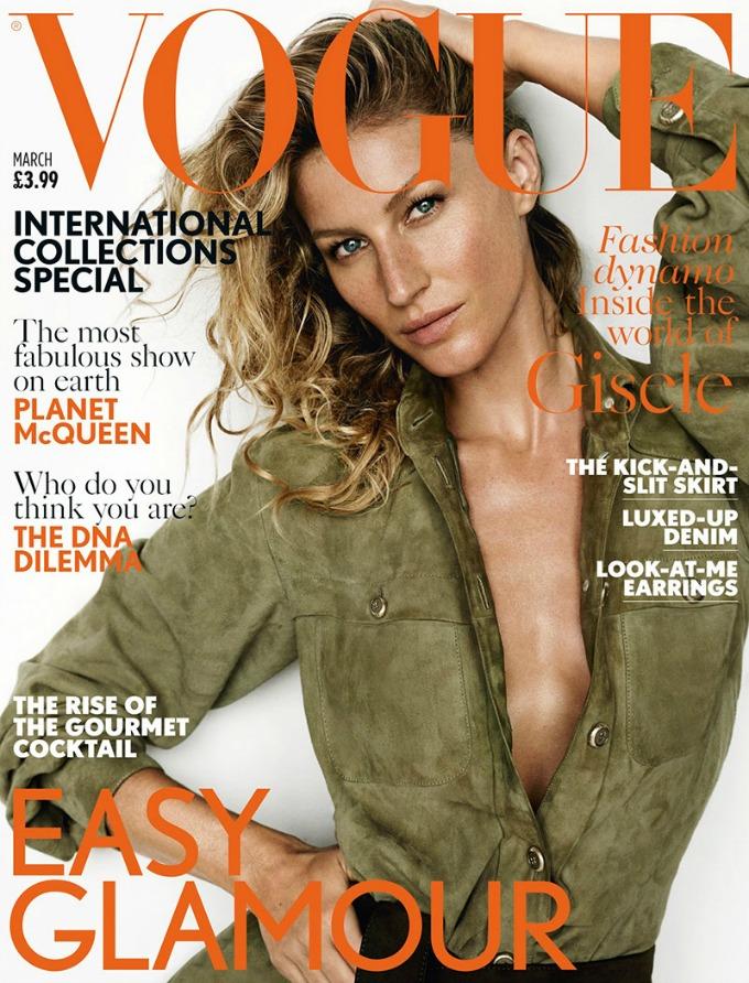 zizel bundsen na naslovnici britanskog voguea 1 Žizel Bundšen na naslovnici britanskog Vogue a
