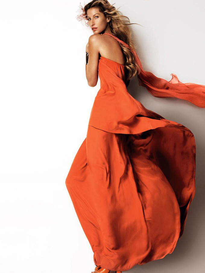 zizel vogue3 Žizel Bundšen u editorijalu magazina Vogue China