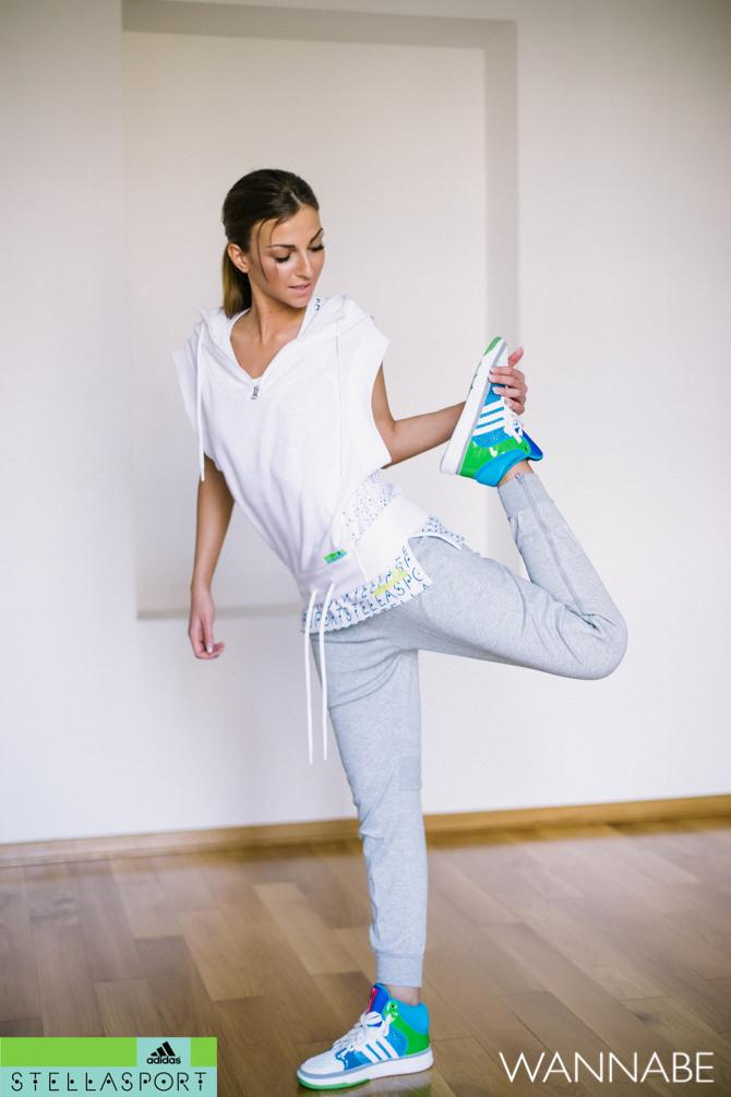 Adidas Stella Sport Zorica Dukovski  18 Modni predlog adidas Stella Sport: Fitnes kao sa modne piste
