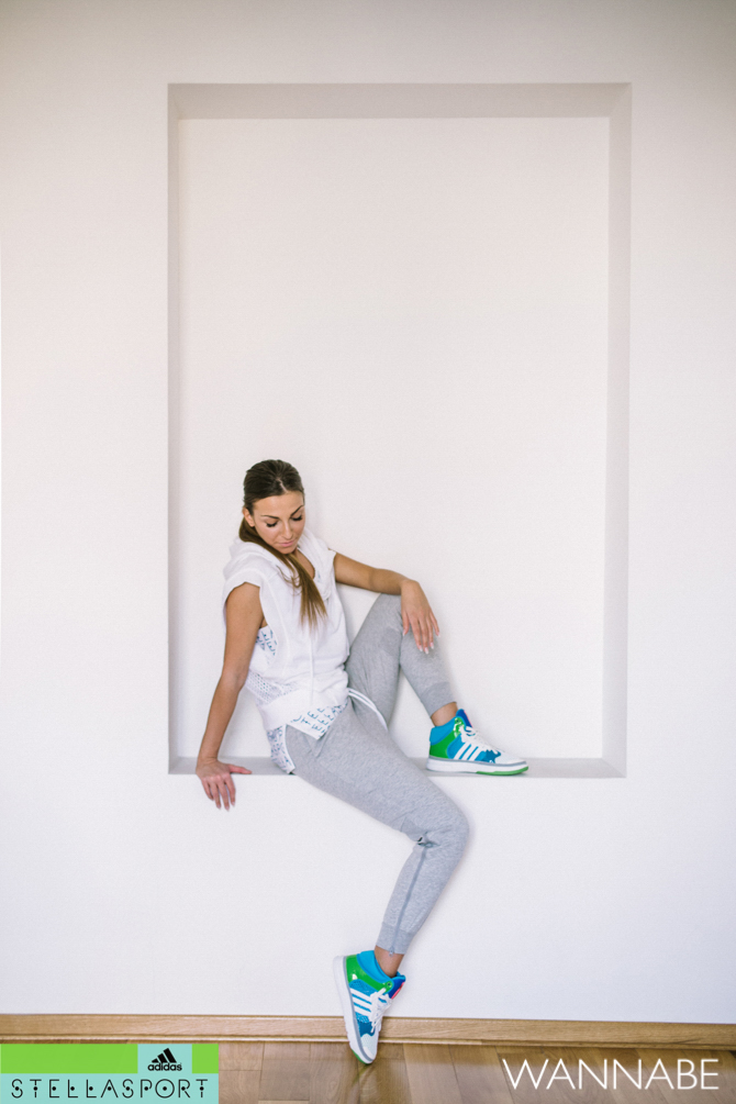Adidas Stella Sport Zorica Dukovski  20 Modni predlog adidas Stella Sport: Fitnes kao sa modne piste