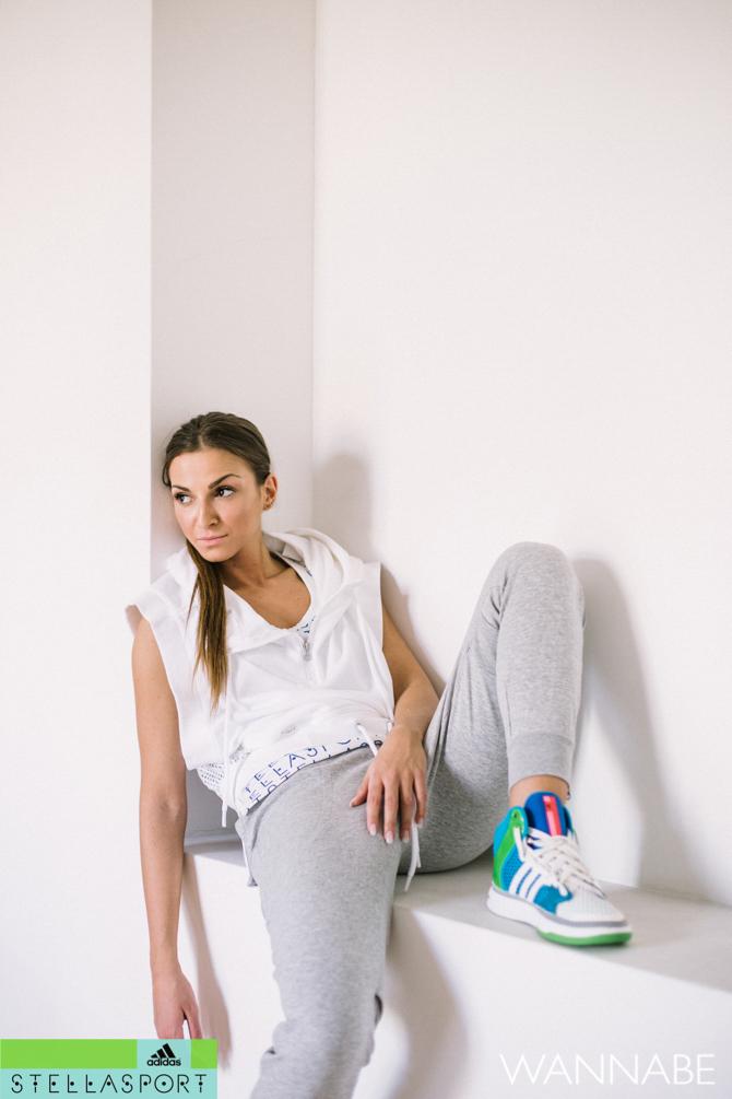 Adidas Stella Sport Zorica Dukovski  211 Modni predlog adidas Stella Sport: Fitnes kao sa modne piste