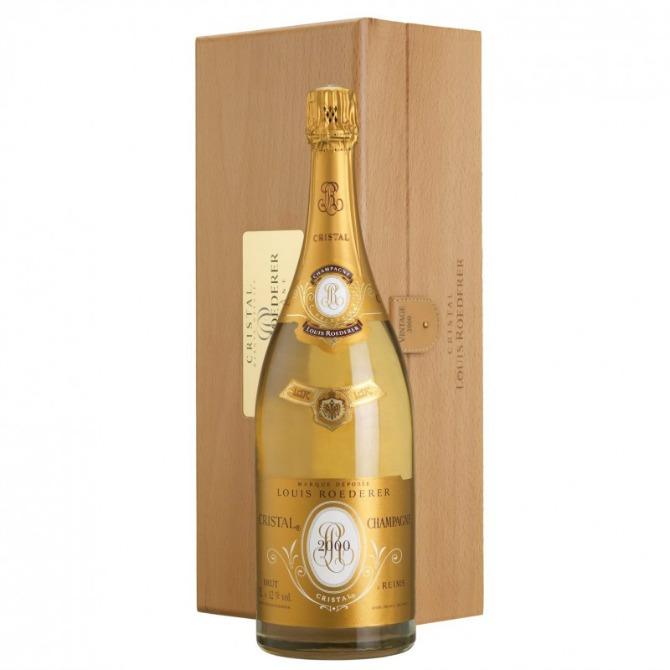 Cristal Brut sampanjac Top pet najskupljih šampanjaca na svetu