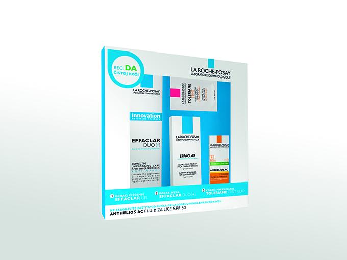 Effaclar kutija La Roche Posay: Effaclar potpuna rutina