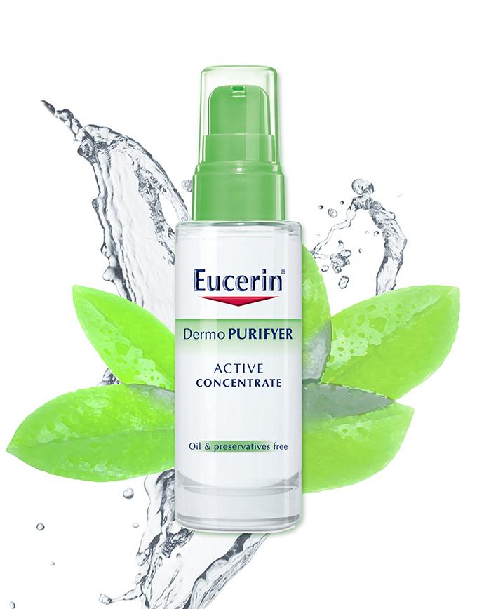 Eucerin Dermopurifyer Koncentrat Eucerin Dermo Purifyer linija   dubinsko čišćenje i totalna nega i hidratacija za savršen početak proleća!