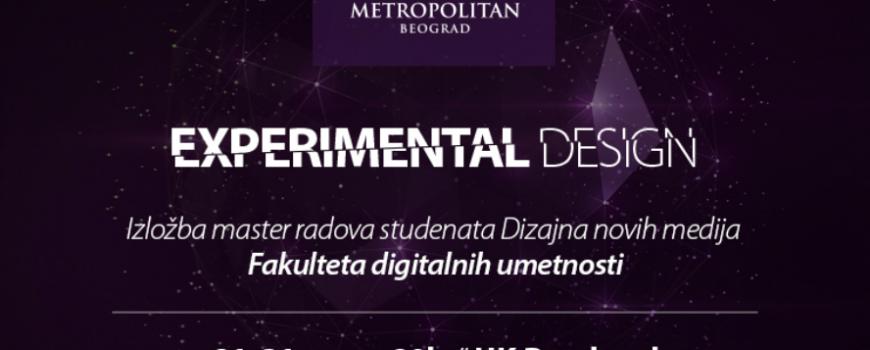 Otvaranje izložbe Experimental Design