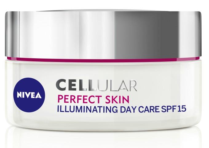 NIVEA Cellular Perfect Skin dnevna krema za ujednačen ten SPF15 1 Vratite koži mladalački sjaj