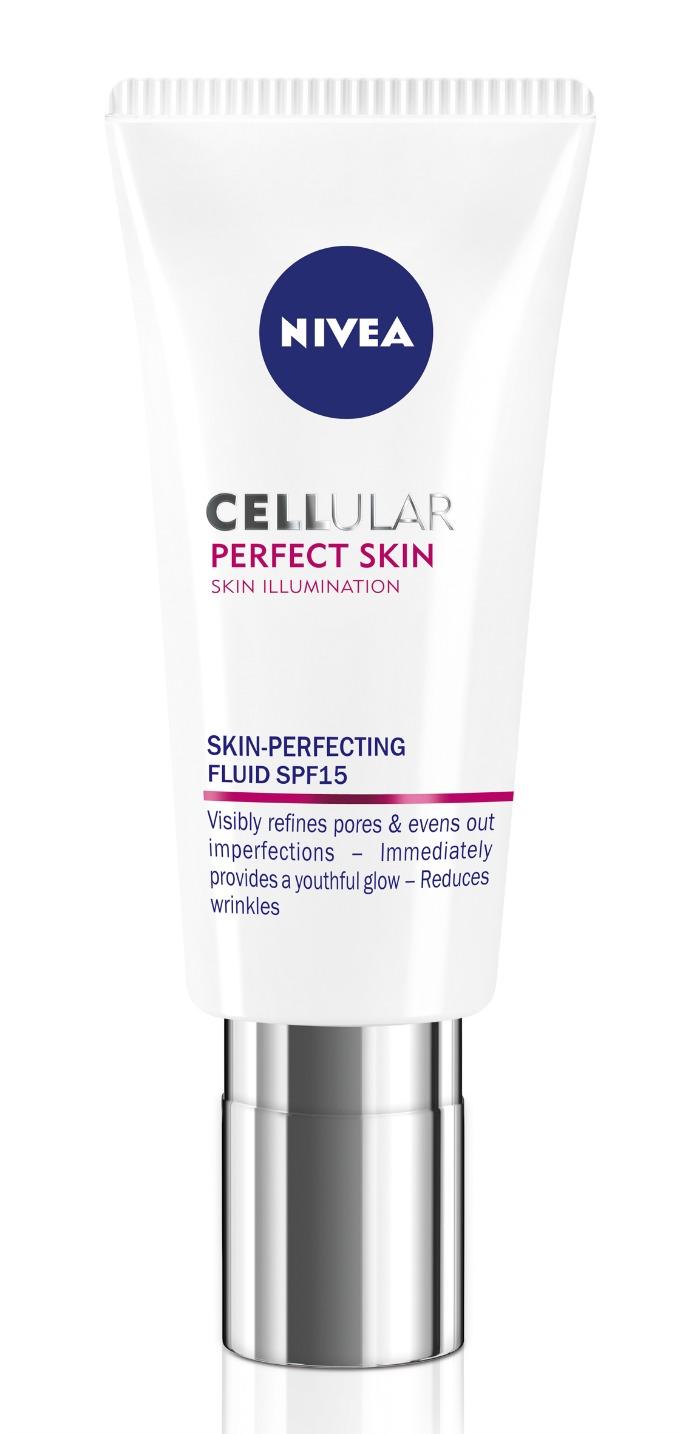 NIVEA Cellular Perfect Skin fluid za ujednačen ten SPF 15 2 Vratite koži mladalački sjaj