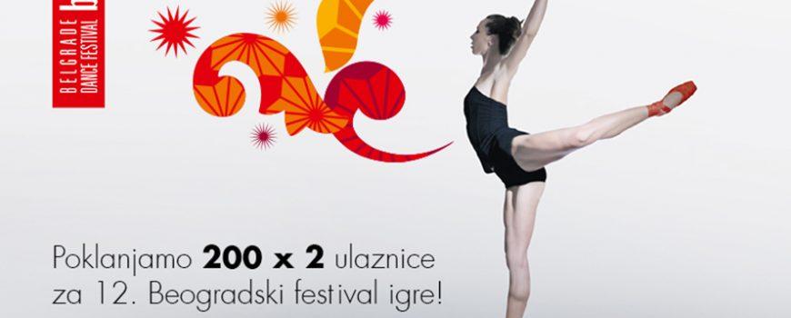 Vip poklanja 400 karata za Beogradski festival igre