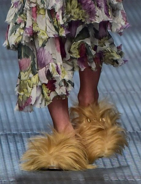 Da li biste nosile dlakave cipele?
