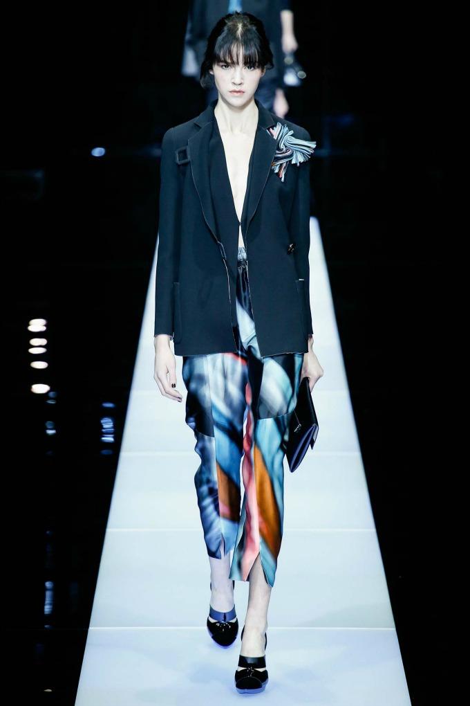 jesenja kolekcija brenda giorgio armani 1 Nedelja mode u Milanu: Revije brendova Giorgio Armani i Dsquared2