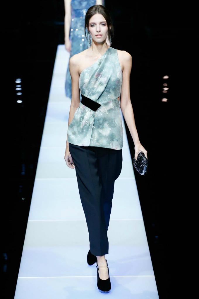 jesenja kolekcija brenda giorgio armani 11 Nedelja mode u Milanu: Revije brendova Giorgio Armani i Dsquared2
