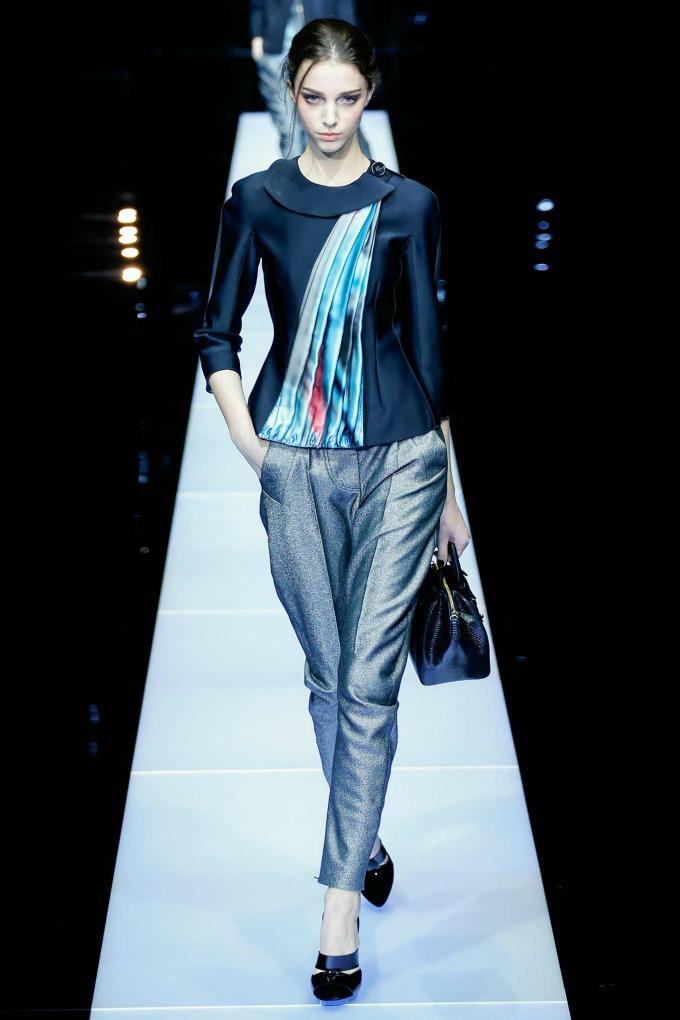 jesenja kolekcija brenda giorgio armani 2 Nedelja mode u Milanu: Revije brendova Giorgio Armani i Dsquared2
