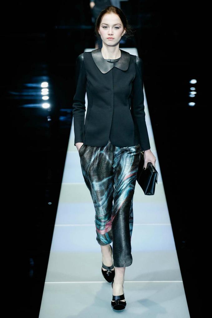 jesenja kolekcija brenda giorgio armani 3 Nedelja mode u Milanu: Revije brendova Giorgio Armani i Dsquared2