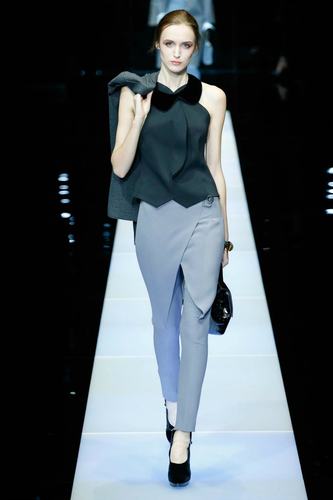 jesenja kolekcija brenda giorgio armani 4 Nedelja mode u Milanu: Revije brendova Giorgio Armani i Dsquared2