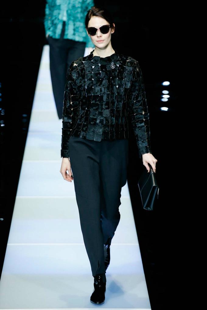 jesenja kolekcija brenda giorgio armani 6 Nedelja mode u Milanu: Revije brendova Giorgio Armani i Dsquared2