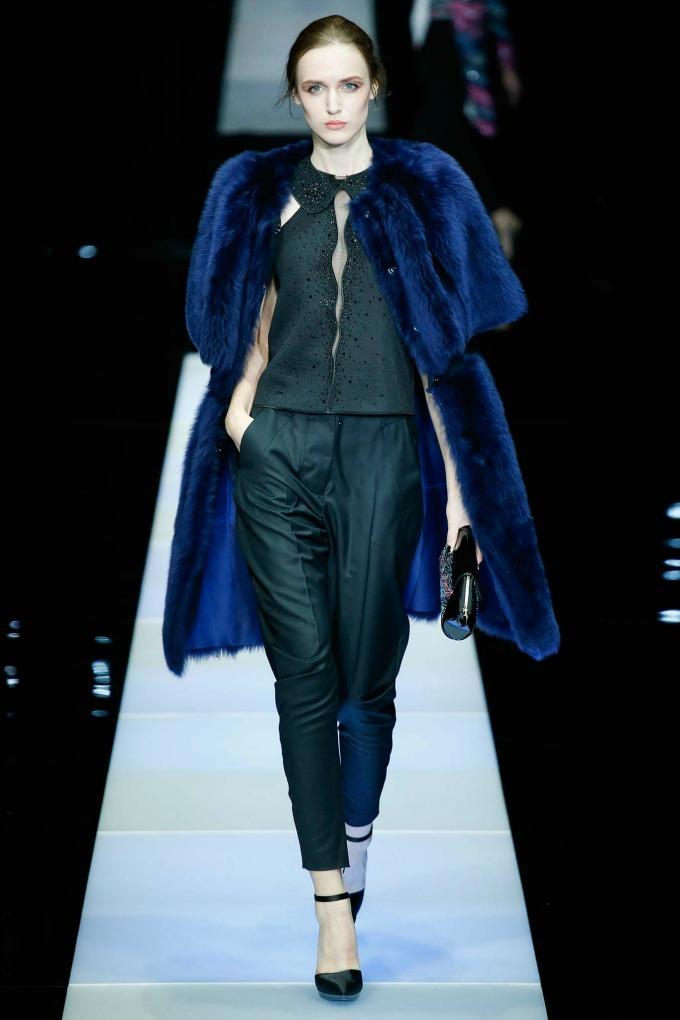 jesenja kolekcija brenda giorgio armani 8 Nedelja mode u Milanu: Revije brendova Giorgio Armani i Dsquared2