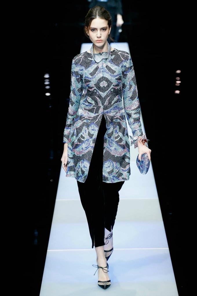 jesenja kolekcija brenda giorgio armani 9 Nedelja mode u Milanu: Revije brendova Giorgio Armani i Dsquared2