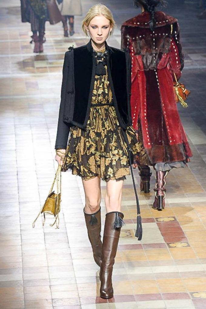 jesenja kolekcija brenda lanvin 6 Paris Fashion Week: Revije brendova Lanvin, Balmain i Roland Mouret
