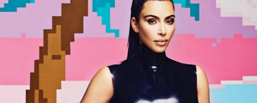 "Kim Kardašijan na naslovnici magazina ""Adweek"""