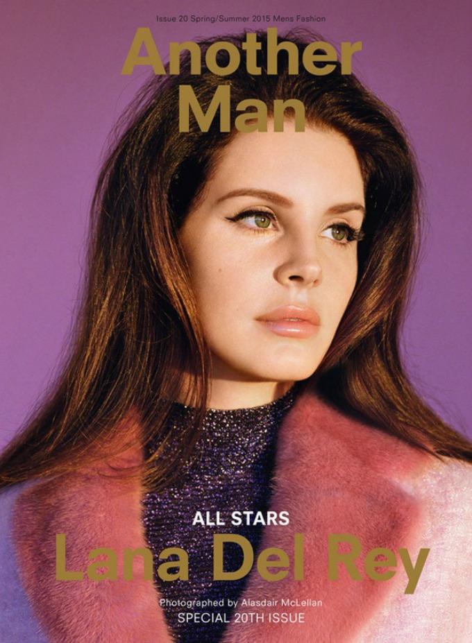 lana del rej na naslovnici magazina another man 1 Lana Del Rej na naslovnici magazina AnOther Man