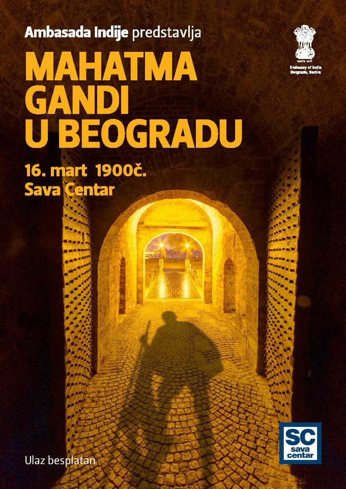 mahatma gandi u beogradu 1 Interaktivna prezentacija Birada Jadžnika Mahatma Gandi u Beogradu