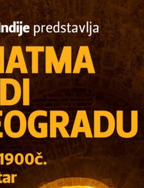 "Interaktivna prezentacija Birada Jadžnika ""Mahatma Gandi u Beogradu"""