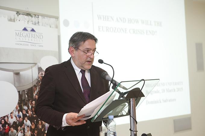 megatrend 1 Predavanje prof. dr Dominika Salvatorea, predsednika Megatrend univerziteta