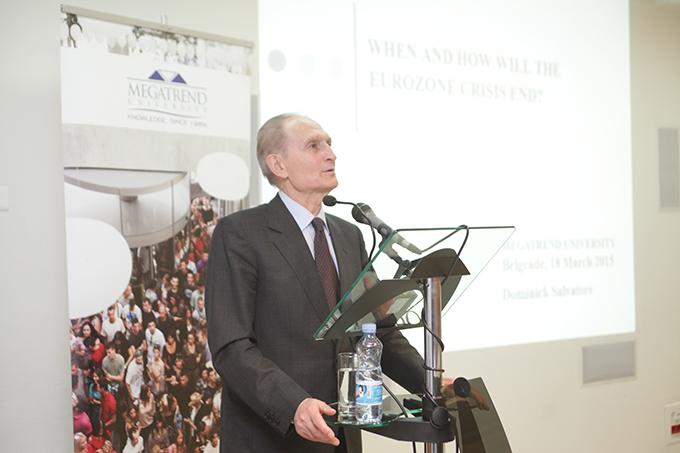 megatrend 3 Predavanje prof. dr Dominika Salvatorea, predsednika Megatrend univerziteta