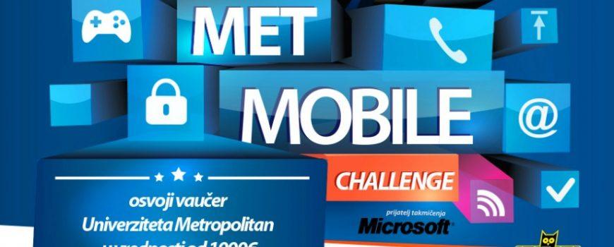 Održano takmičenje MET MOBILE CHALLENGE