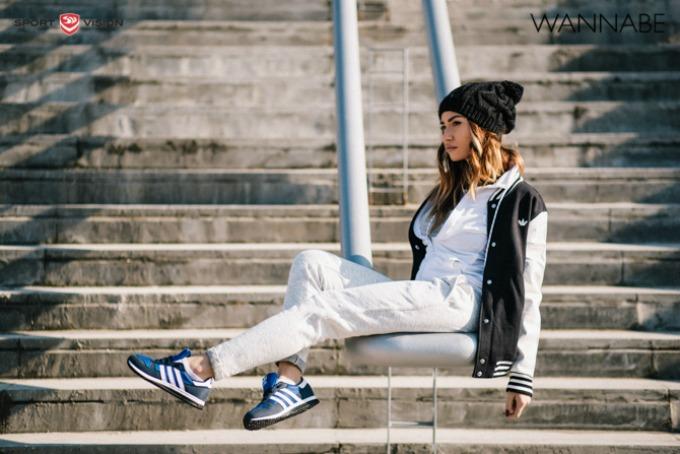modni predlog adidas originals 4 Modni predlog adidas Originals: Urbana trendseterka