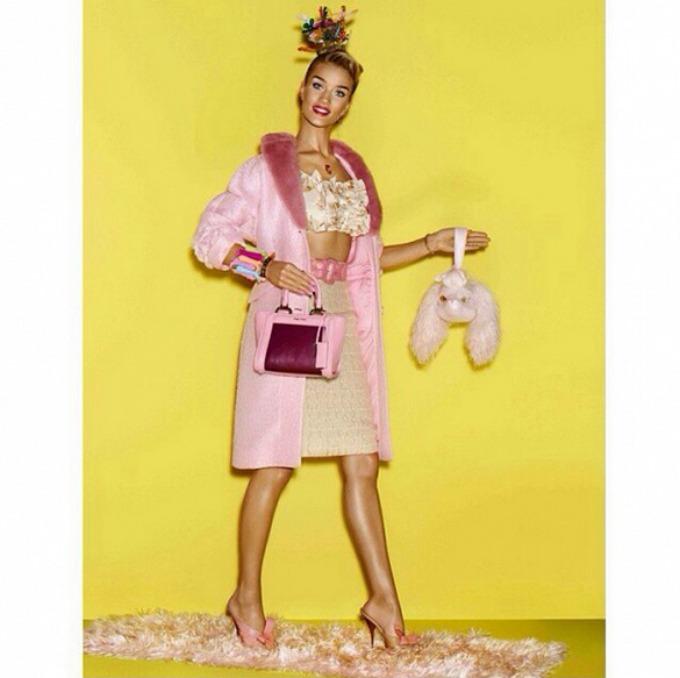 rouzi hantington vajtli kao ziva barbika 3 Rouzi Hantington Vajtli kao živa Barbika