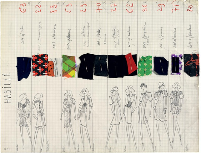 saint laurent 2 Izložba posvećena kontroverznoj kolekciji Yves Saint Laurent iz 1971.