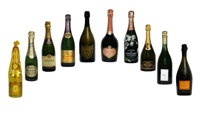 sampanjac Top pet najskupljih šampanjaca na svetu