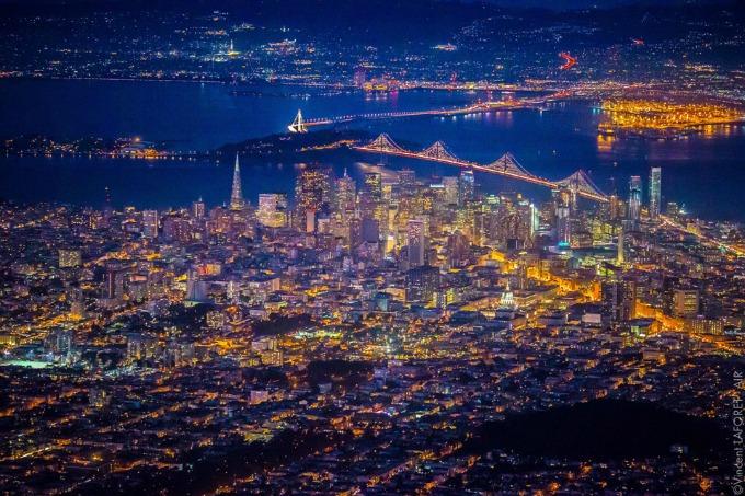 san francisko nocu 3 San Francisko noću: Magija koja očarava