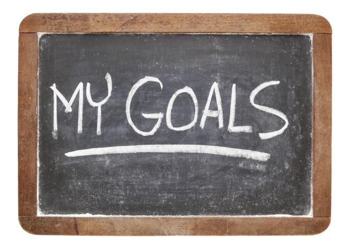 tabla ciljevi Moraš da znaš kuda ideš, da bi mogao tamo da stigneš