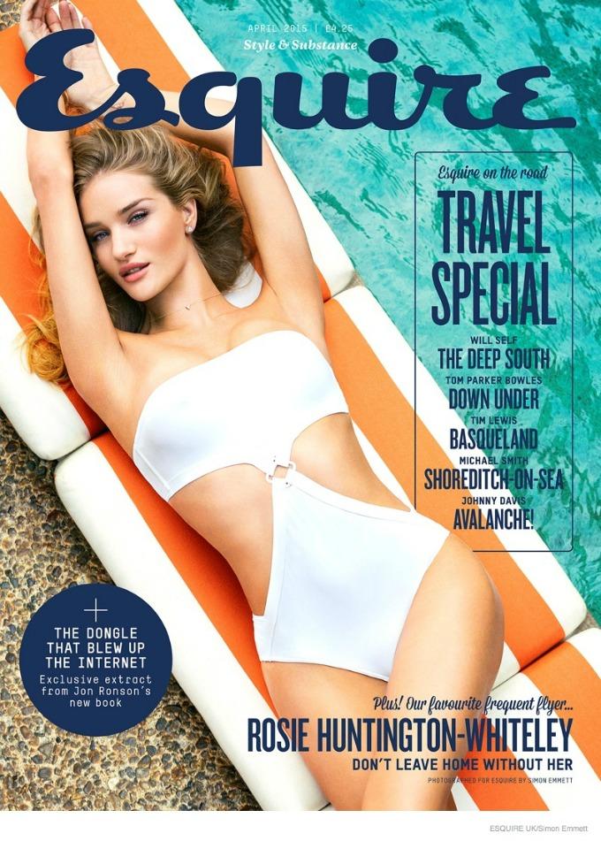zanosna rouzi hantington vajtli na naslovnici magazina esquire uk 1 Zanosna Rouzi Hantington Vajtli na naslovnici magazina Esquire UK