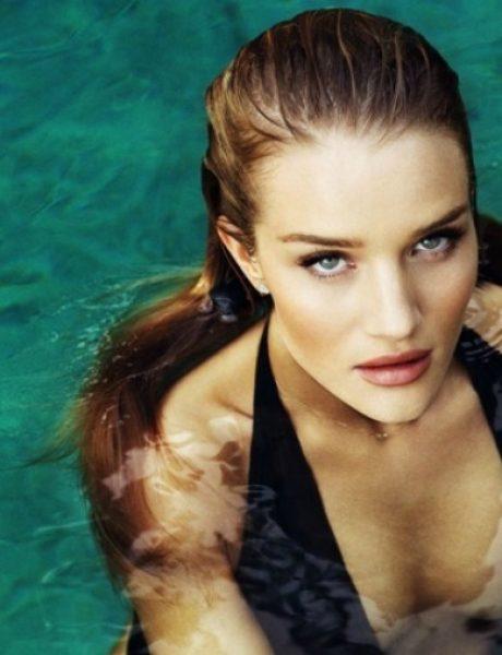 "Zanosna Rouzi Hantington-Vajtli na naslovnici magazina ""Esquire UK"""