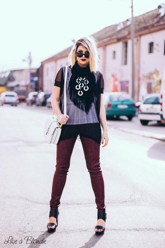 1 Katarina Veljkovic 7 Modni predlog: Da li ste spremne da ponesete zmijski print?