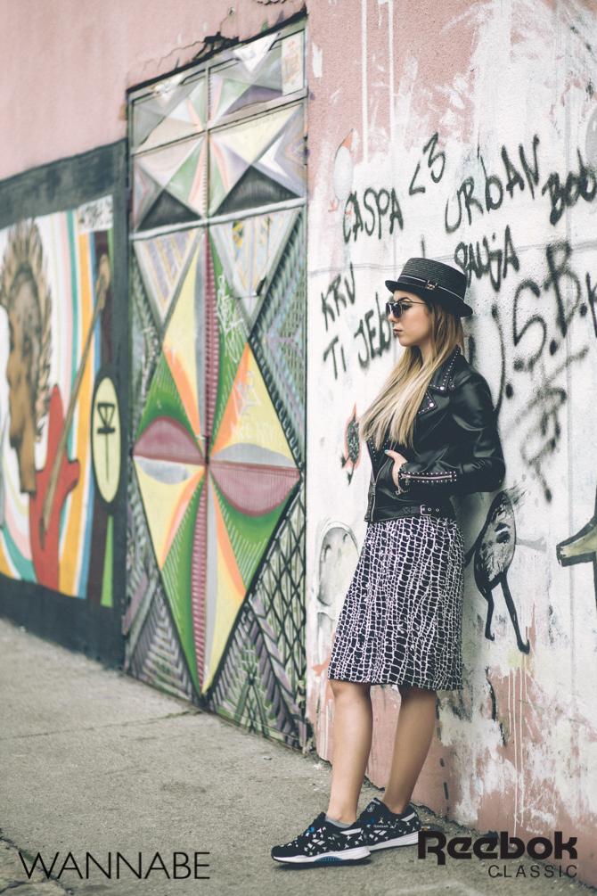 5 Rebook DJ Prema Unja Green Wannabemagazine 56 Reebok Classic modni predlog: Ponesi patike i suknju