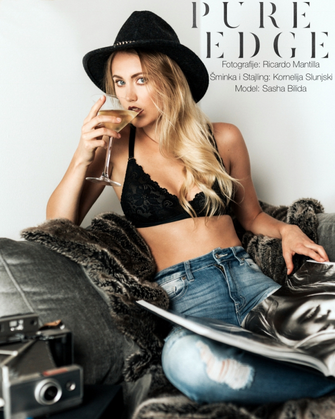 670 Beauty&style editorijal: Pure edge