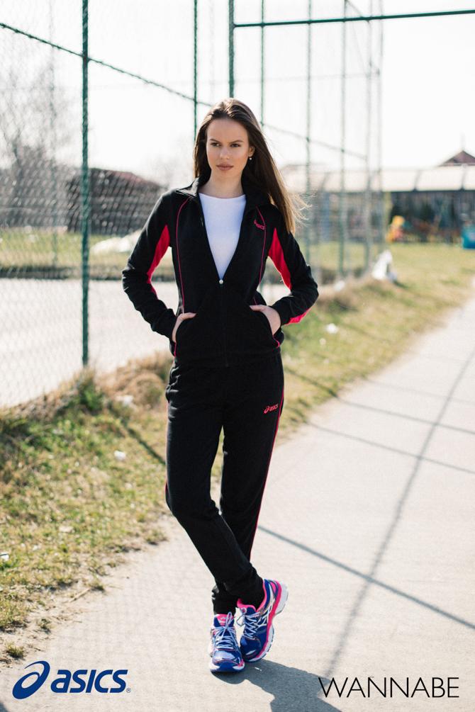 Asics fashion predlog Wannabe 17 Asics modni predlog: Crna trenerka za lagani trening