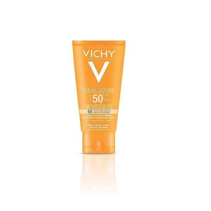 BB Crème onctueuse teintee SPF50+ Ideal Soleil Bronze: Optimalna preplanulost za osetljivu kožu lica